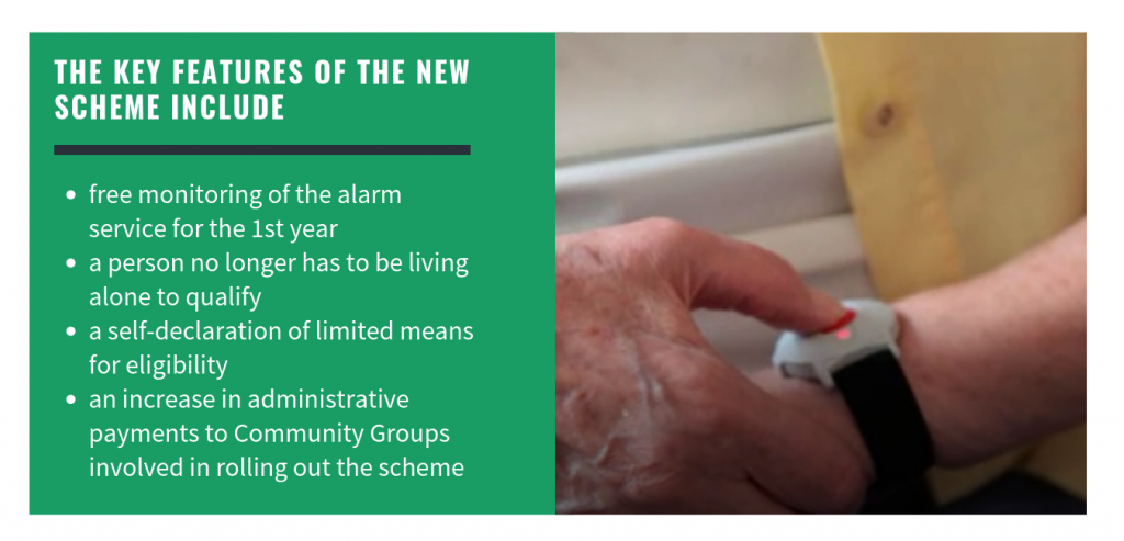 Key features of Seniors Alert Scheme
