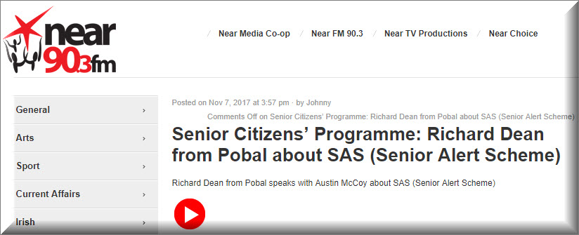 Seniors Alert Scheme_Richard Deane Pobal_NearFM
