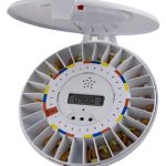 automatic medication pill dispenser with alarm