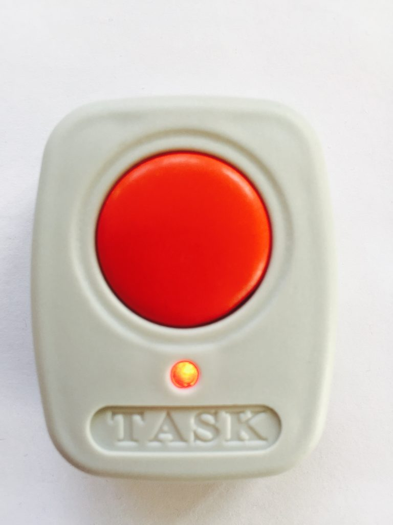 A TASK Community Care Bogus Caller Button | €50