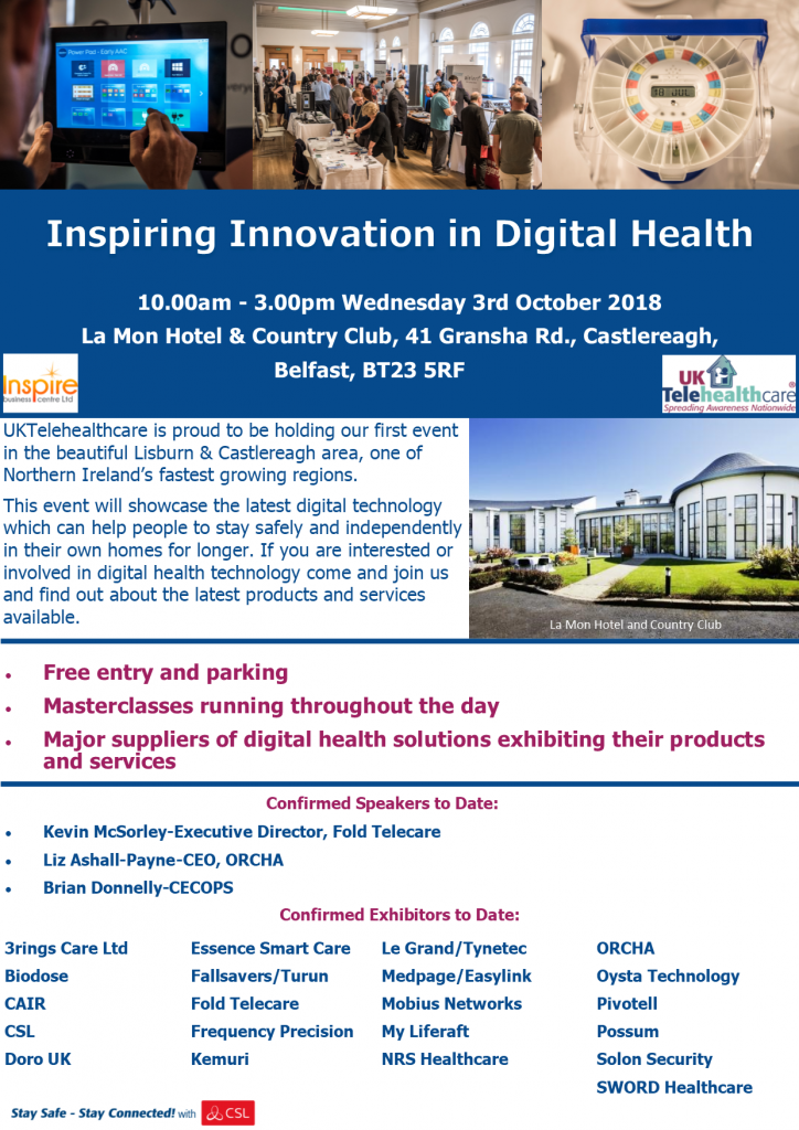 Digital Health Event Flyer
