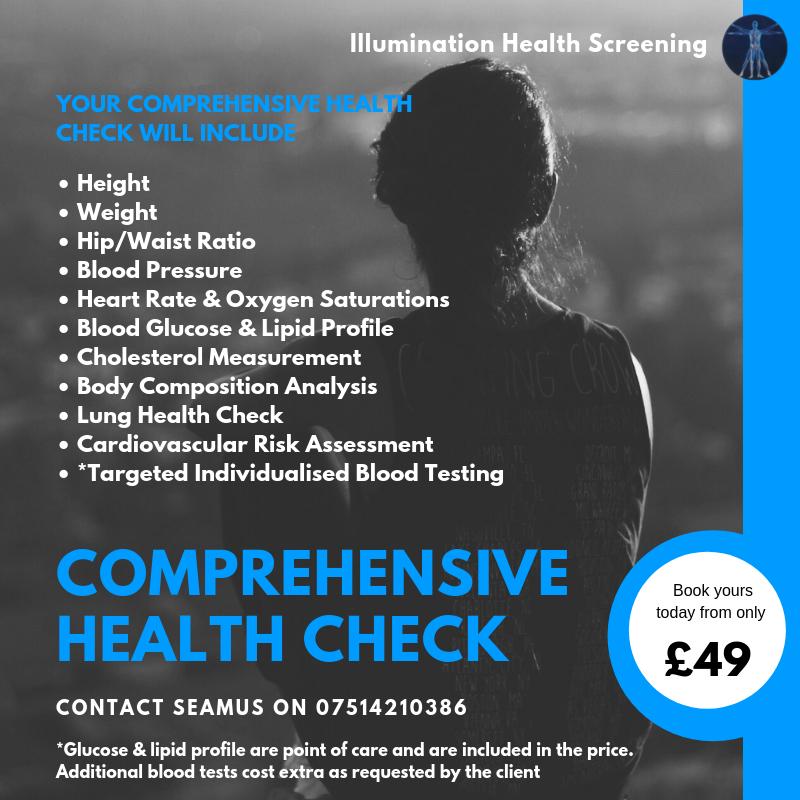 Illumination Health Screening - Comprehensive Health Check