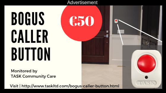 bogus caller button advertisement