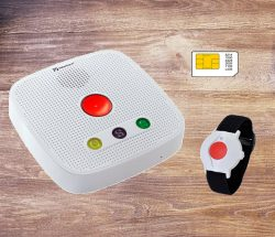 GSM personal Alarm with sim